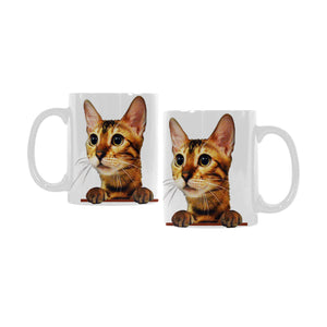 Simba the Bengal White Mug(11OZ)