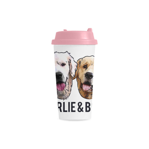 Charlie and Bodie Double Wall Plastic Mug
