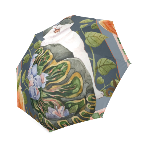 Botanicat Foldable Umbrella Collection-Umbrella-[Color]-[Size]-Kucicat