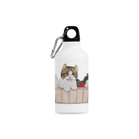 Ameria the Cat Cazorla Sports Bottle(13.5OZ)