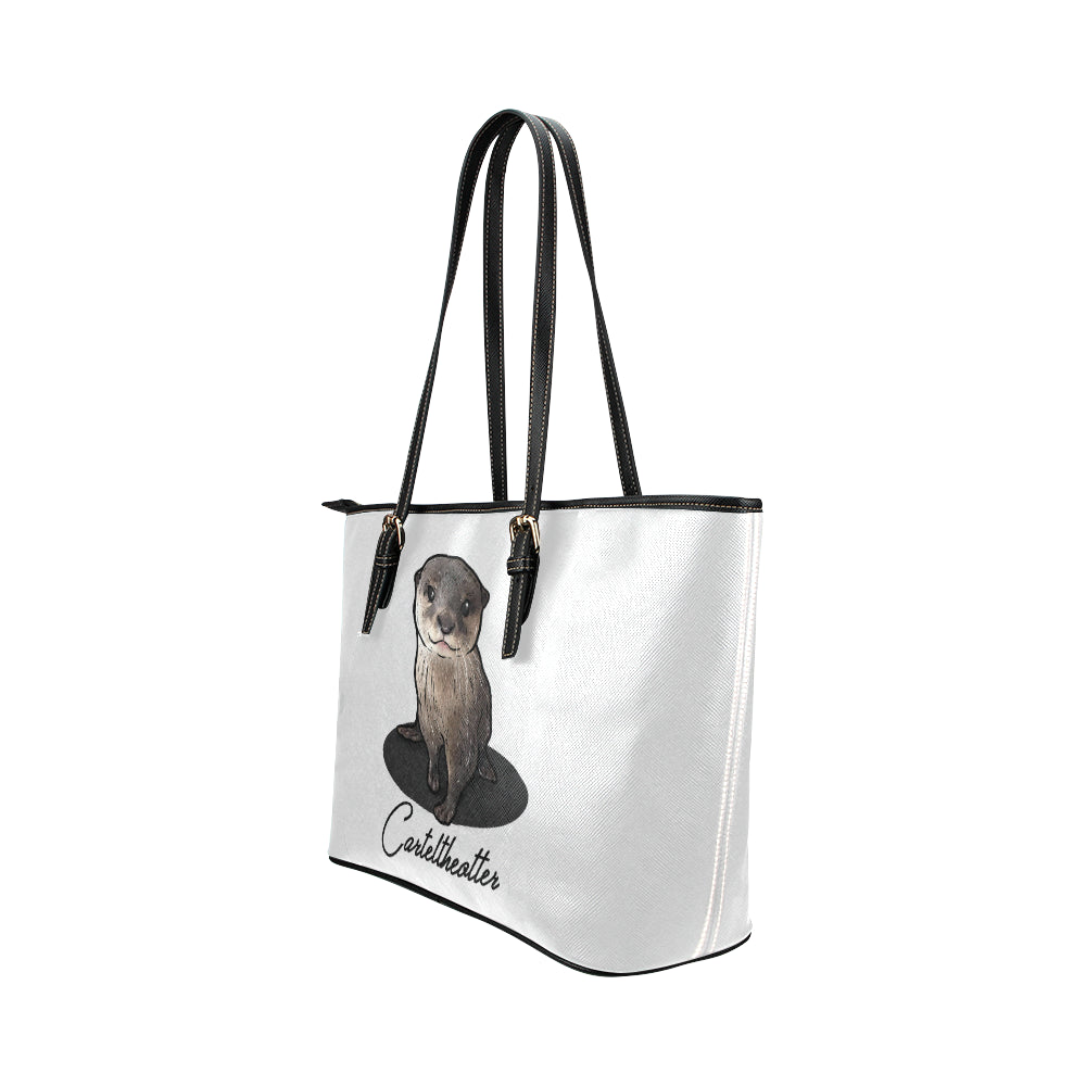 Cartel The Otter Official Vegan Leather Tote Bag