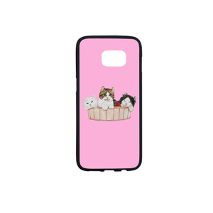 Ameria the Cat Rubber Case for Samsung Galaxy
