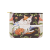 "Botanicat Pouch Collections-pouch-8""x6""-Meowdel Carry-All Pouch 8''x 6''-Kucicat"