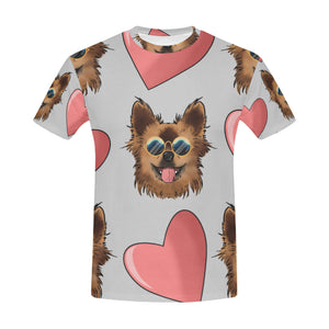 Chewie Pattern T-Shirt for Men (USA Size)