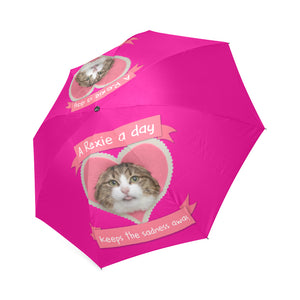 A Rexie a day keeps the sadness away Foldable Umbrella-Foldable Umbrella-[Color]-[Size]-Kucicat