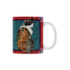 Botanicat Mugs Collection-Mugs-One Size-Botanicat Yakuza White Mug(11OZ)-Kucicat
