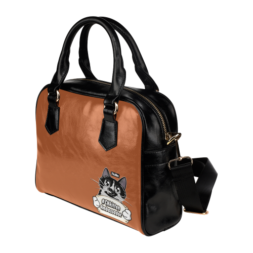Rollie #CHkitten Ambassador Shoulder Vegan Leather Handbag-Kucicat