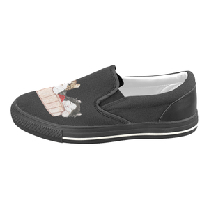 Ameria the Cat Women's Slip-on Canvas Shoes