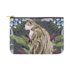 "Botanicat Pouch Collections-pouch-12.5""x8.5""-Marble Jungle Carry-All Pouch 12.5''x8.5''-Kucicat"