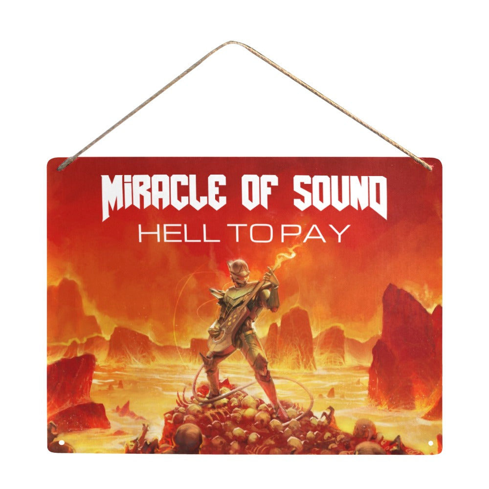 Hell To Pay Metal Artwork