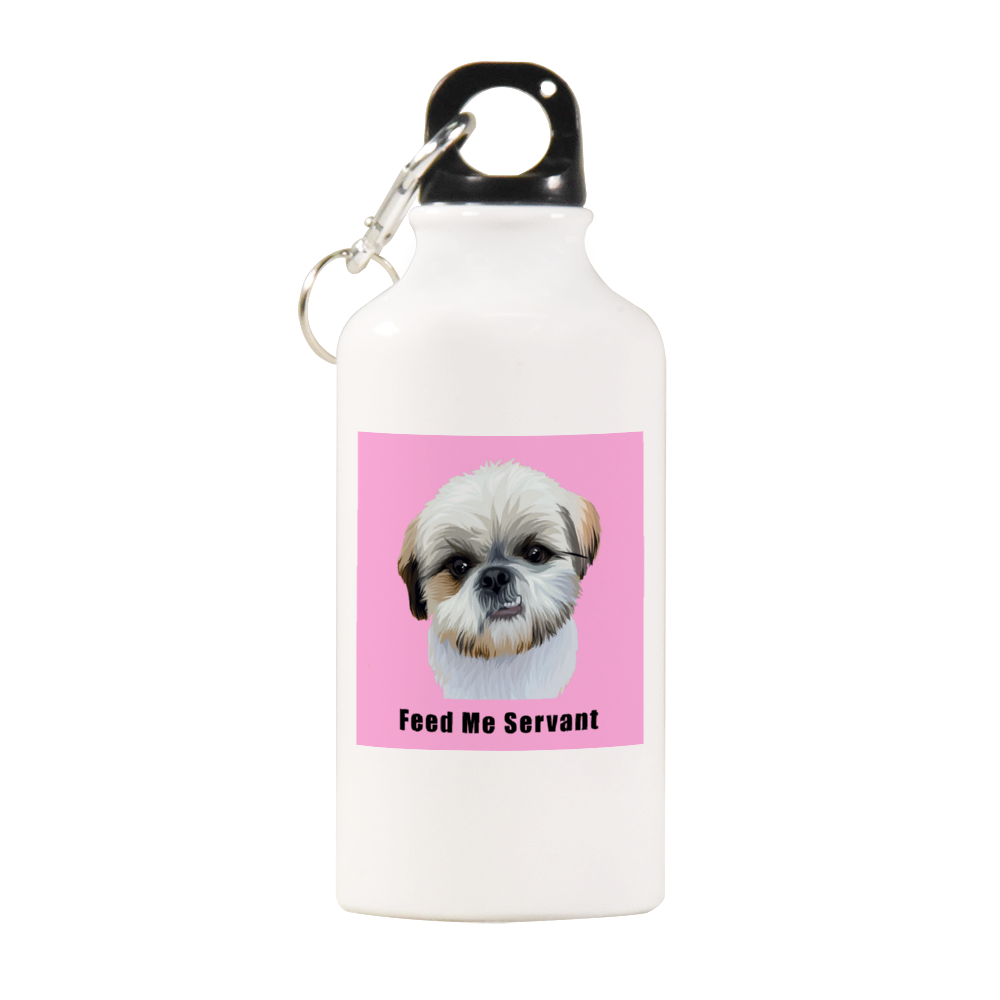Duke Angryfluff Feed Me Servant Official Water Bottle 13.5oz