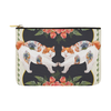 "Botanicat Pouch Collections-pouch-12.5""x8.5""-Mirror Carry-All Pouch 12.5''x8.5''-Kucicat"