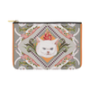 "Botanicat Pouch Collections-pouch-12.5""x8.5""-Tropical Carry-All Pouch 12.5''x8.5''-Kucicat"