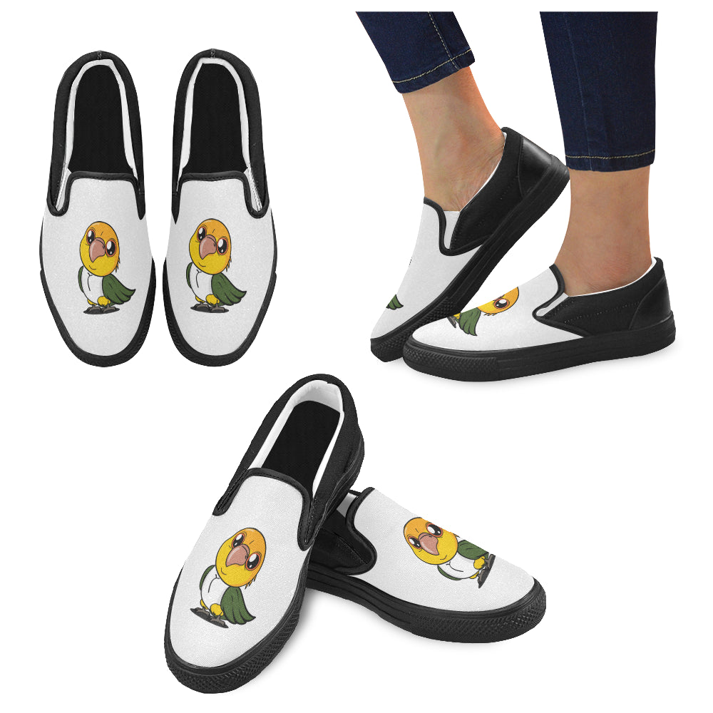 Jalapeno Women's Slip-on Canvas Shoes