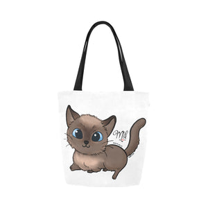 Adorable Mili Canvas Tote Bag-Kucicat