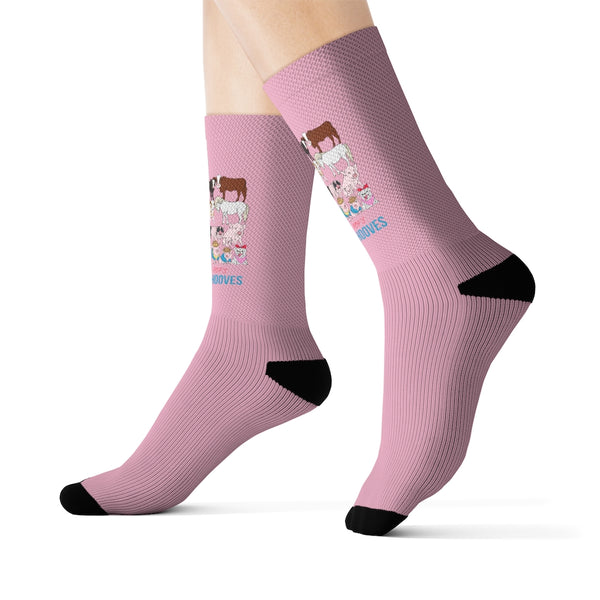 Prissy & Pop's Helping Hooves Official Socks