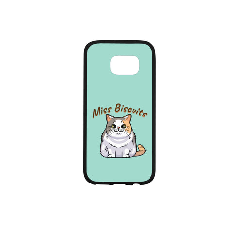 Miss Biscuits Rubber Case for Samsung Galaxy