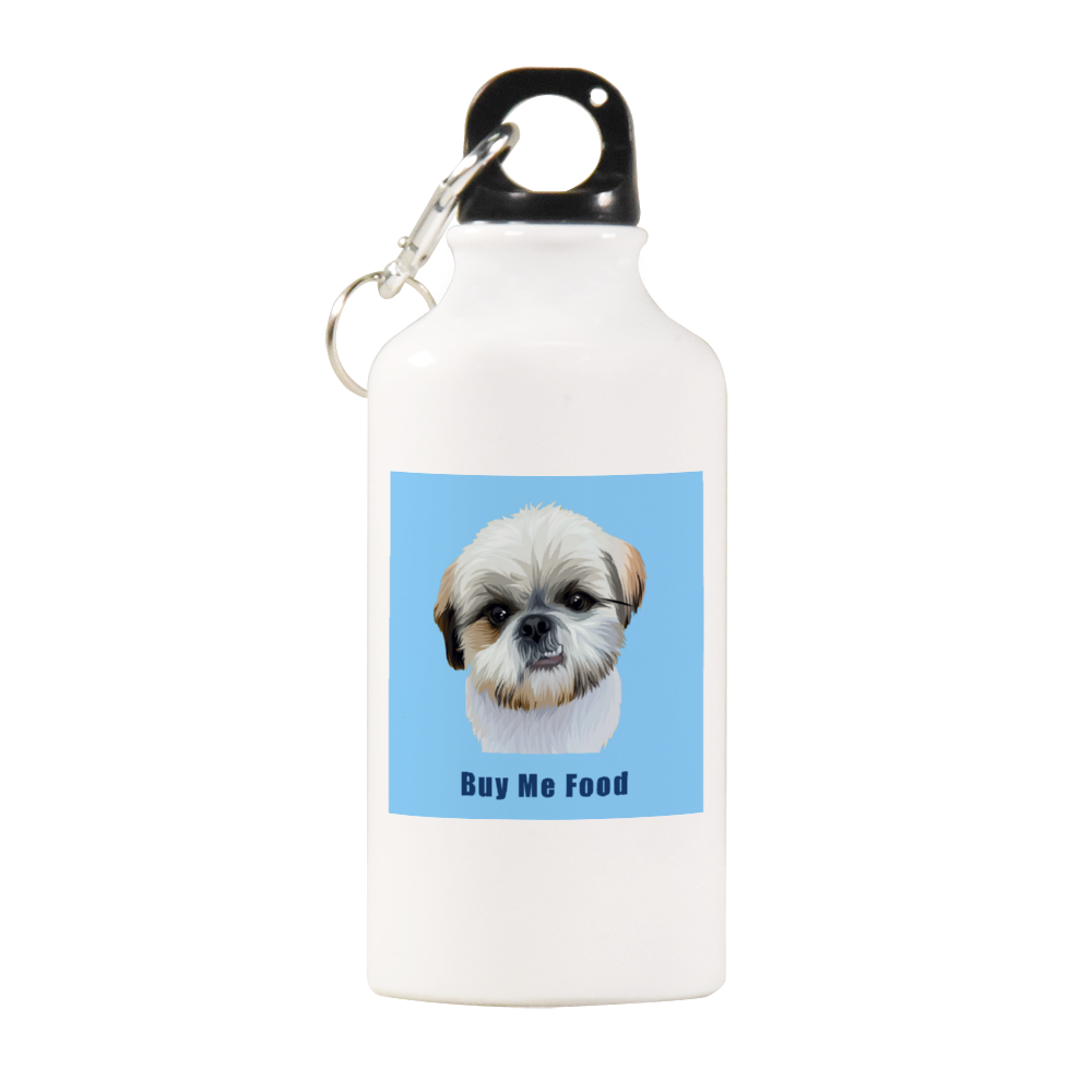 Duke Angryfluff Buy Me Food Official Water Bottle 13.5oz