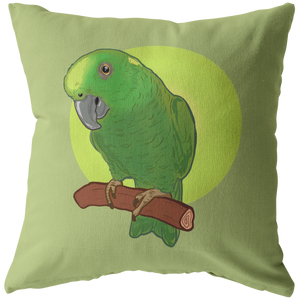 "Coconut The Amazon Official Zippered Pillow Case 16""x16"" (One Sided)"