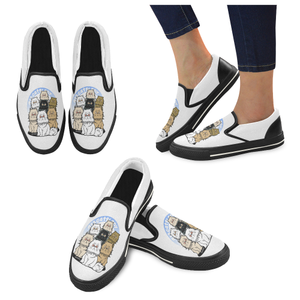 12Catslady Women's Unusual Slip-on Canvas Shoes-Women's Unusual Slip-on Canvas Shoes (019)-US6-Kucicat
