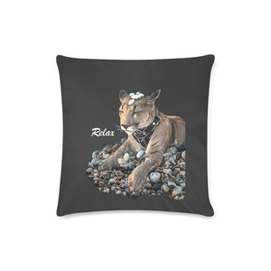 "Messi Relax Zippered Pillow Case 16""x16""(Twin Sides)"