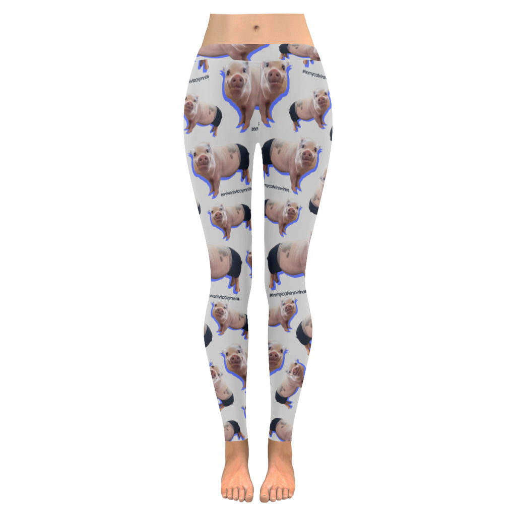 Prissy Pig All Over Leggings