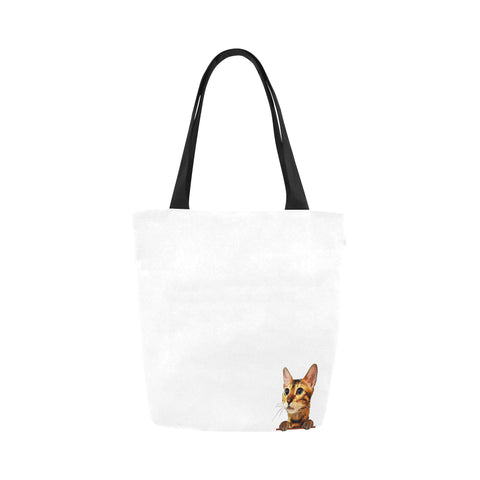 Simba the Bengal Canvas Tote Bag-Kucicat