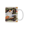 Botanicat Mugs Collection-Mugs-One Size-Botanicat Meowdel White Mug(11OZ)-Kucicat