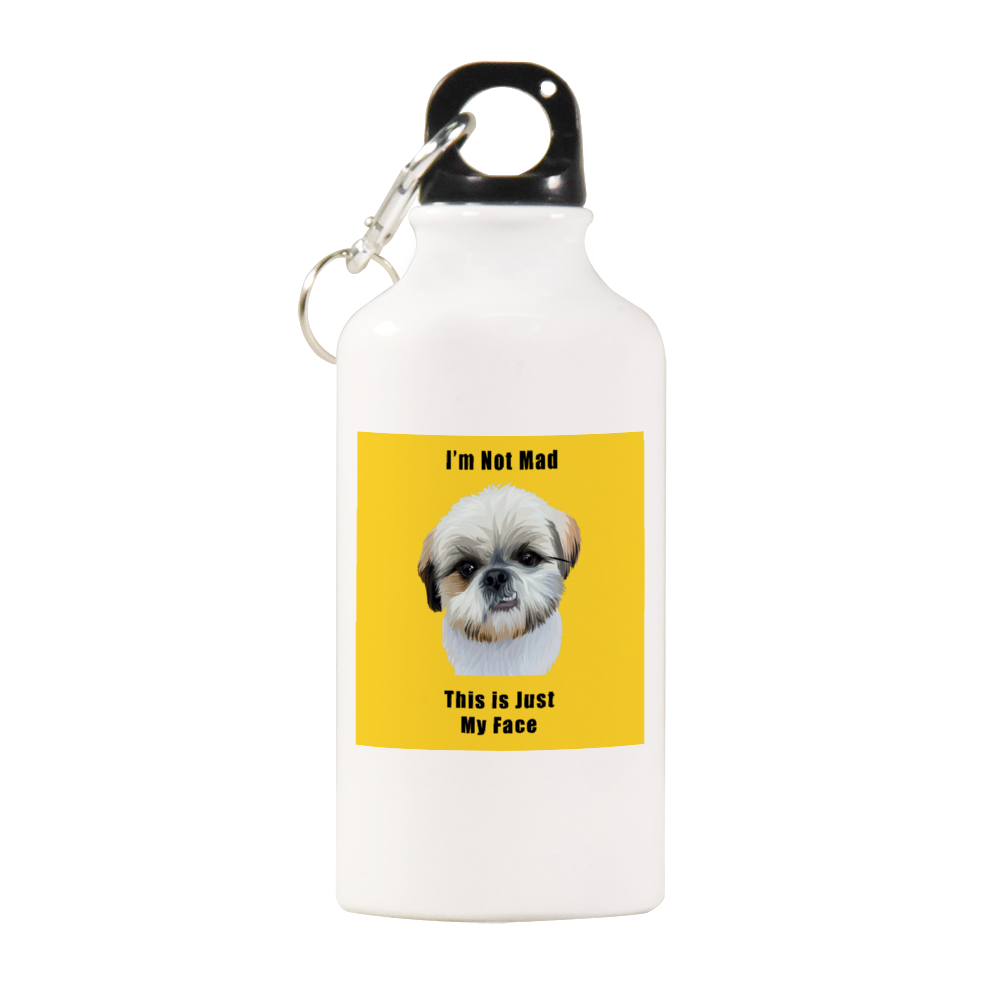 Duke Angryfluff This is Just My Face Official Water Bottle 13.5oz