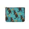 "Botanicat Pouch Collections-pouch-8""x6""-Kuro Carry-All Pouch 8''x 6''-Kucicat"
