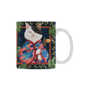 Botanicat Mugs Collection-Mugs-One Size-Botanicat Japanese Princess White Mug(11OZ)-Kucicat