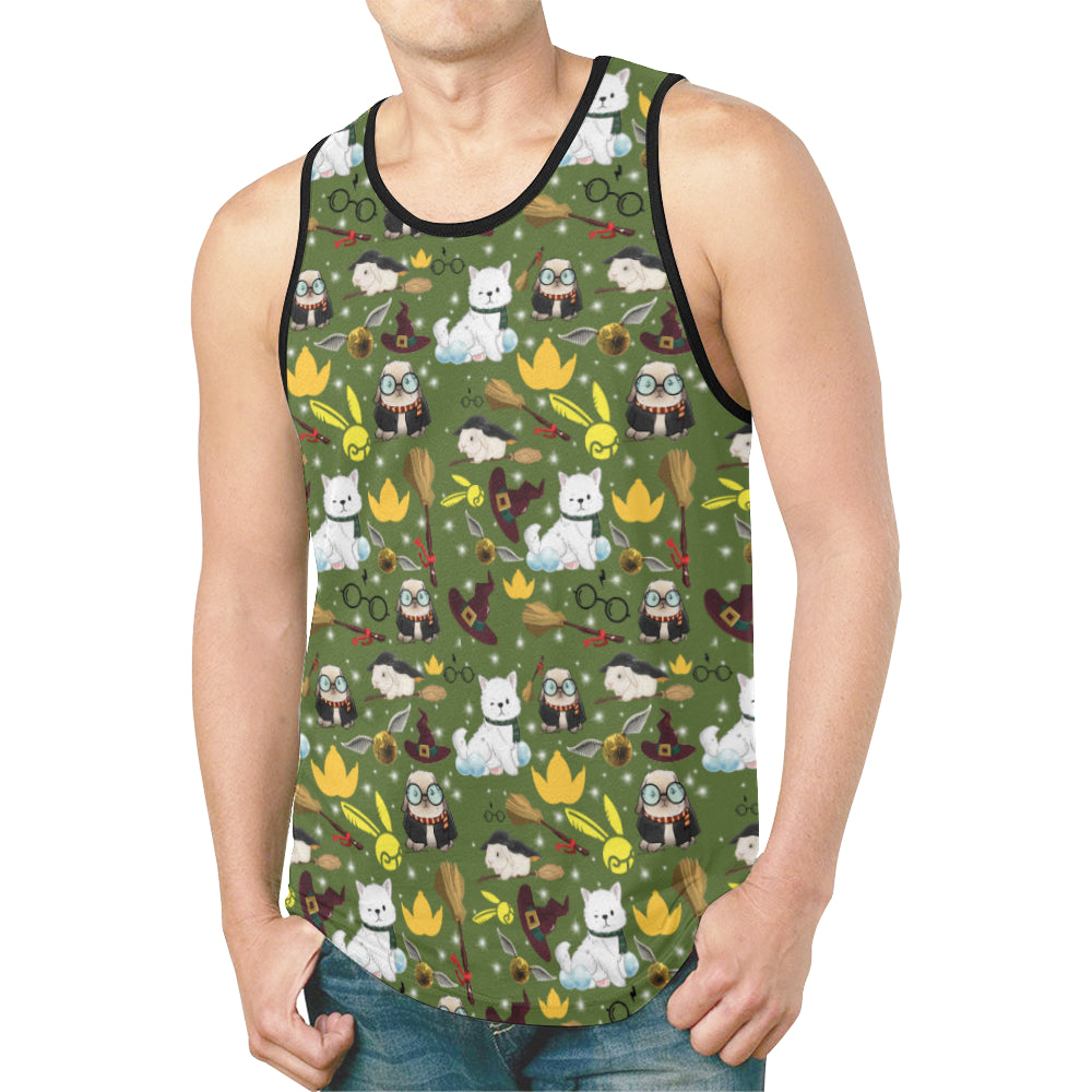 Professor Poppet Official All Over Print Men's Tank Top