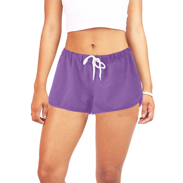 Hata Maka Pink Official Purple Women's All Over Print Relaxed Shorts