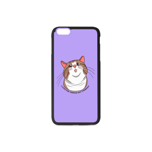 Rexie Cat I live For Tongue Out Tuesday iPhone Case-iphone case-One Size-Rexie Cat I live For Tongue Out Tuesday Rubber Case for iPhone 6/6s Plus-Kucicat