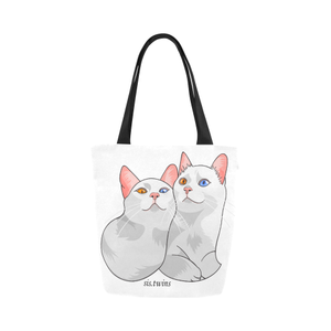 Always Together Sis.twins Canvas Tote Bag-Kucicat