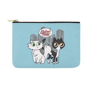 Neyland and Knox Pouch-pouch-One Size-Neyland and Knox Carry-All Pouch 12.5''x8.5''-Kucicat