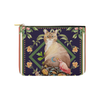"Botanicat Pouch Collections-pouch-8""x6""-Abyssinian Carry-All Pouch 8''x 6''-Kucicat"