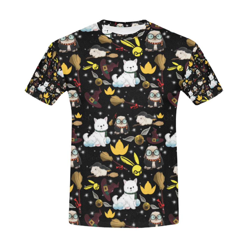 Professor Poppet Official Men's T-shirt All Over Print T-Shirt for Men (USA Size) (Model T40)-Vardise.com