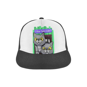 Exi and Exo - The Twin Cats Snapback Hat-All Over Print Snapback Hat-One Size-Kucicat
