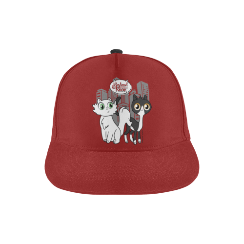 Neyland and Knox All Over Print Snapback Hat-All Over Print Snapback Hat-One Size-Kucicat