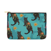 "Botanicat Pouch Collections-pouch-12.5""x8.5""-Kuro Carry-All Pouch 12.5''x8.5''-Kucicat"
