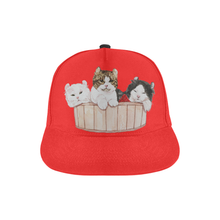 Ameria the Cat All Over Print Snapback Hat