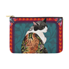 "Botanicat Pouch Collections-pouch-12.5""x8.5""-Yakuza Carry-All Pouch 12.5''x8.5''-Kucicat"