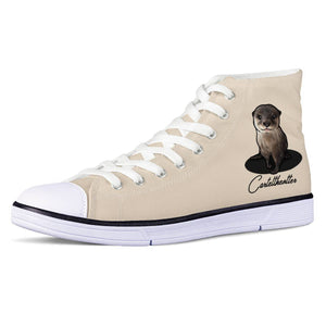 Cartel Otter Official White EVA High Top Canvas shoes
