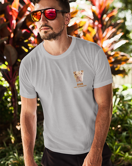 Ava The Tapping Pei Men's T-Shirt-Vardise.com