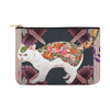 "Botanicat Pouch Collections-pouch-12.5""x8.5""-Hiss Carry-All Pouch 12.5''x8.5''-Kucicat"