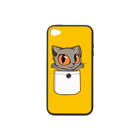 Knoet iPhone Case Collections-iPhone case-One Size-Knoet2 Rubber Case for iPhone 4/4s-Kucicat