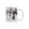 Neyland and Knox White Mug(11OZ)-White Mug-One Size-Kucicat