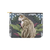 "Botanicat Pouch Collections-pouch-8""x6""-Marble Jungle Carry-All Pouch 8''x 6''-Kucicat"