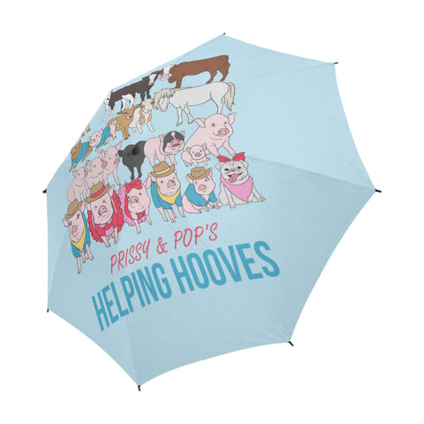 Prissy & Pop's Helping Hooves Official Semi-Automatic Foldable Umbrella